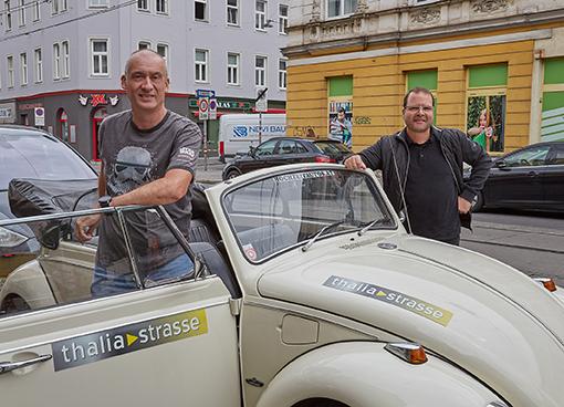 Thaliastrasse Oldtimerfahrt Schratzenthaller